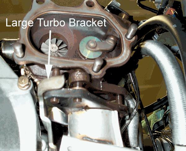 Perrin Uppipe Large Turbo Bracket