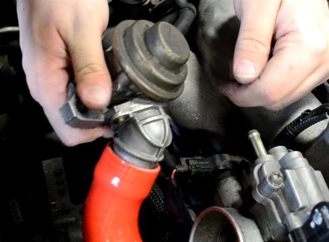 Figure 18: Install GrimmSpeed BPV hose