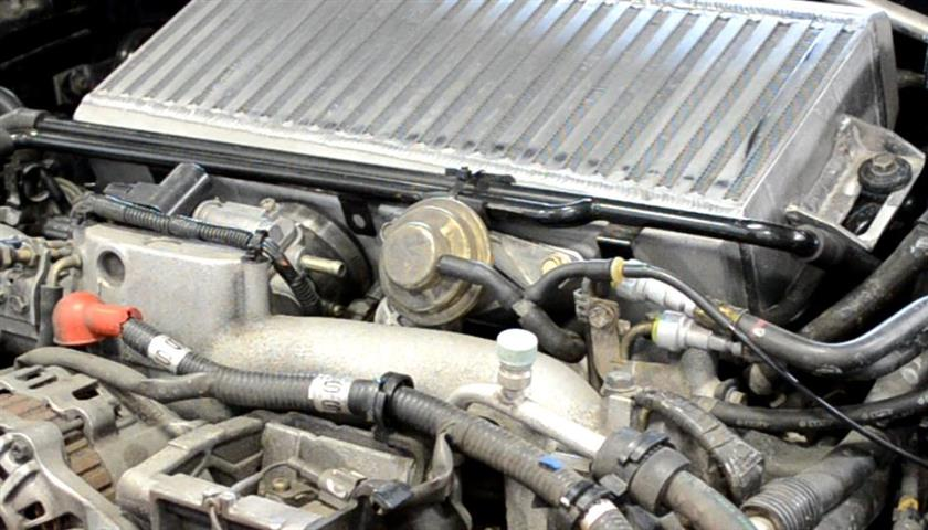 Figure 3: Remove OEM radiator stay brackets