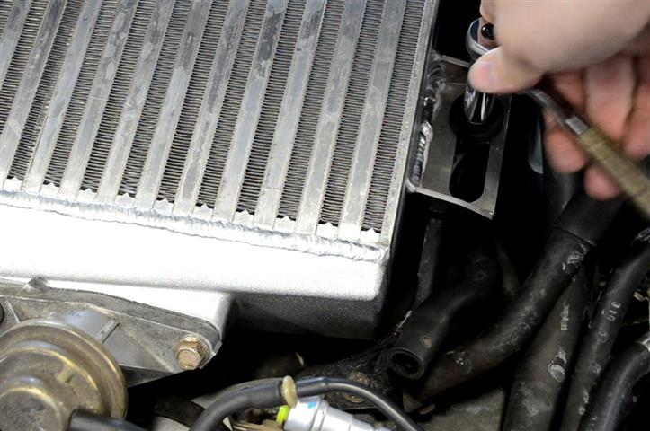 Figure 25: Bolt intercooler back down