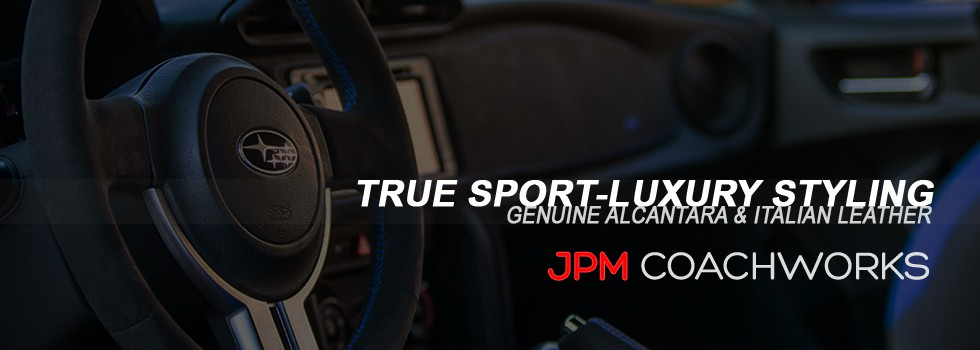 JPM Coachworks - Genuine Alcantara & Italian Leather Interior Accessories