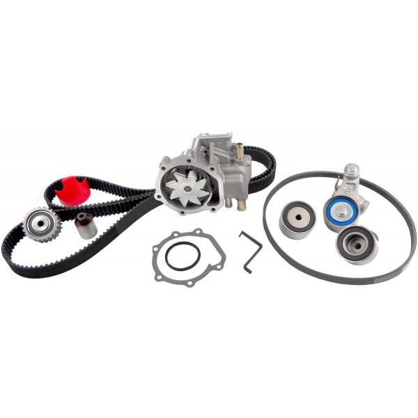 gates tckwp328sf timing belt component kit w   water pump subaru sti 08