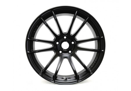 Gram Lights 57XTREME 19x8.5 +33 5x100 Semi-Gloss Black