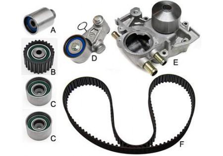 Gates Timing Belt Component Kit w/ Water Pump