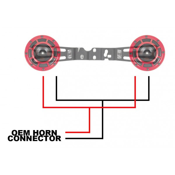 grimmspeed 040015 hella horn wiring harness subaru sti. Black Bedroom Furniture Sets. Home Design Ideas