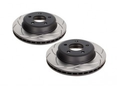 DBA T2 Slotted Rear Brake Rotors