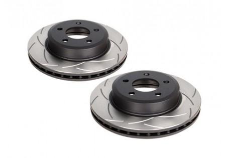 DBA T2 Slotted Rear Brake Rotors