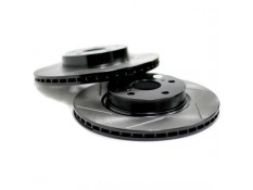 Powerslot Slotted Front Brake Rotors (Pair)