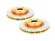 DBA 4000XS HD Drilled & Slotted Rear Brake Rotors