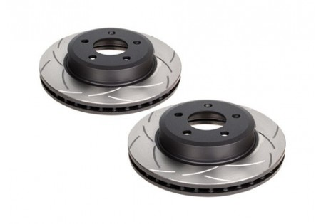 DBA T2 Slotted Front Brake Rotors