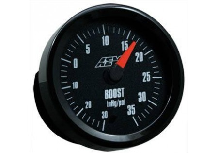 AEM Analog Boost Gauge