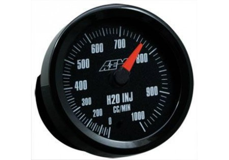 AEM Analog Water/Methanol Flow 1000cc Gauge