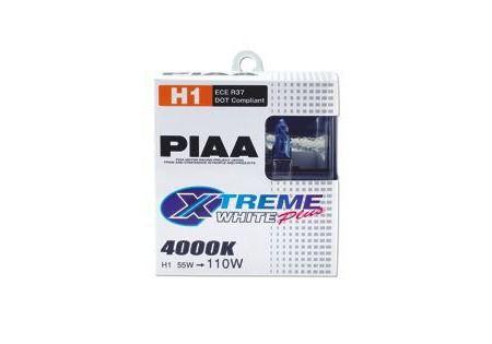 PIAA H1 Extreme White Plus Bulbs Twin Pack