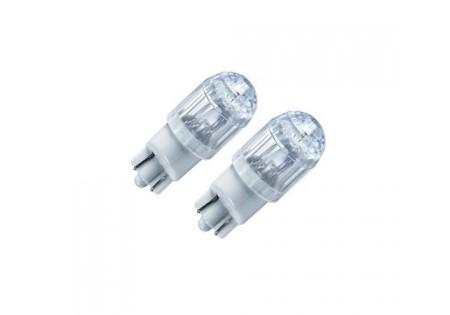 PIAA T10 Hyper Dimple Super LED Bulb Twin Pack