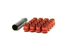 Muteki Lug Nuts Red M12x1.5 Open