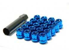 Muteki Lug Nuts Blue M12x1.5 Open