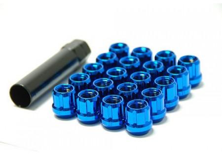 Muteki Lug Nuts Blue M12x1.5 Open