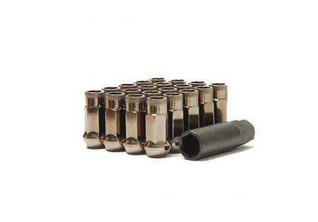 Muteki SR48 Lug Nuts Titanium M12x1.5 Open
