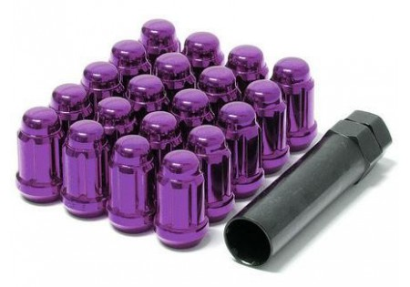 Muteki Lug Nuts Purple M12x1.5 Closed