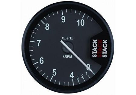 STACK ST200 Clubman Tachometer - 0-4-10.5k Black
