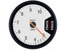 STACK ST200 Clubman Tachometer - 0-4-10.5k White