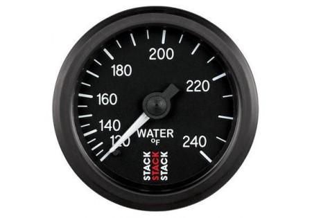 STACK 52mm Mechanical Water Temperature Gauge - 120-240F