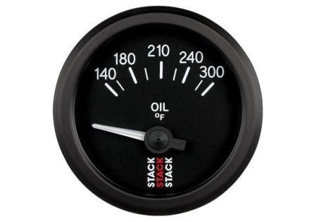 STACK 52mm Electric Oil Temperature Gauge - 140-300F