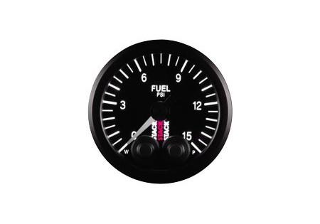 STACK 52mm Pro-Control Fuel Pressure Gauge - 0-15 psi