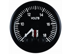 STACK 52mm Pro-Control Battery Voltage Gauge - 8-18V